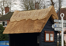 People think this bus stop's new thatched roof is amazing</